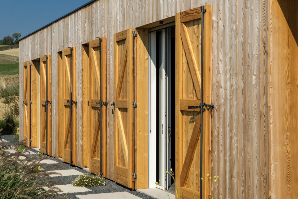 Immagine per Villa privata rivestita in legno a Piozzano - 5