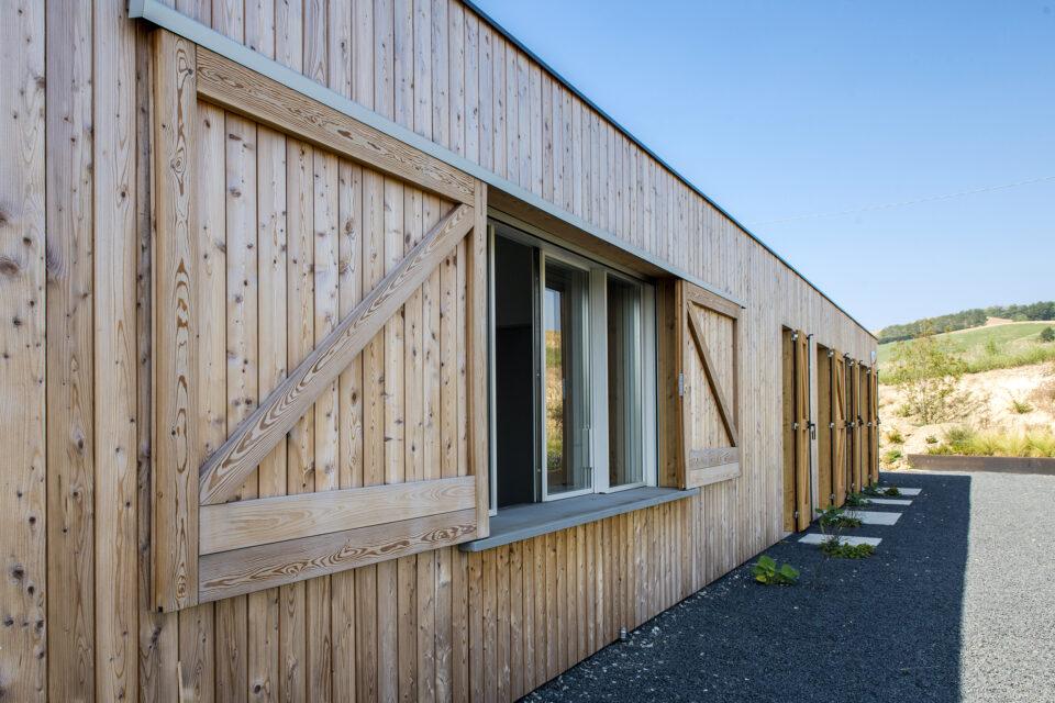 Immagine per Villa privata rivestita in legno a Piozzano - 4