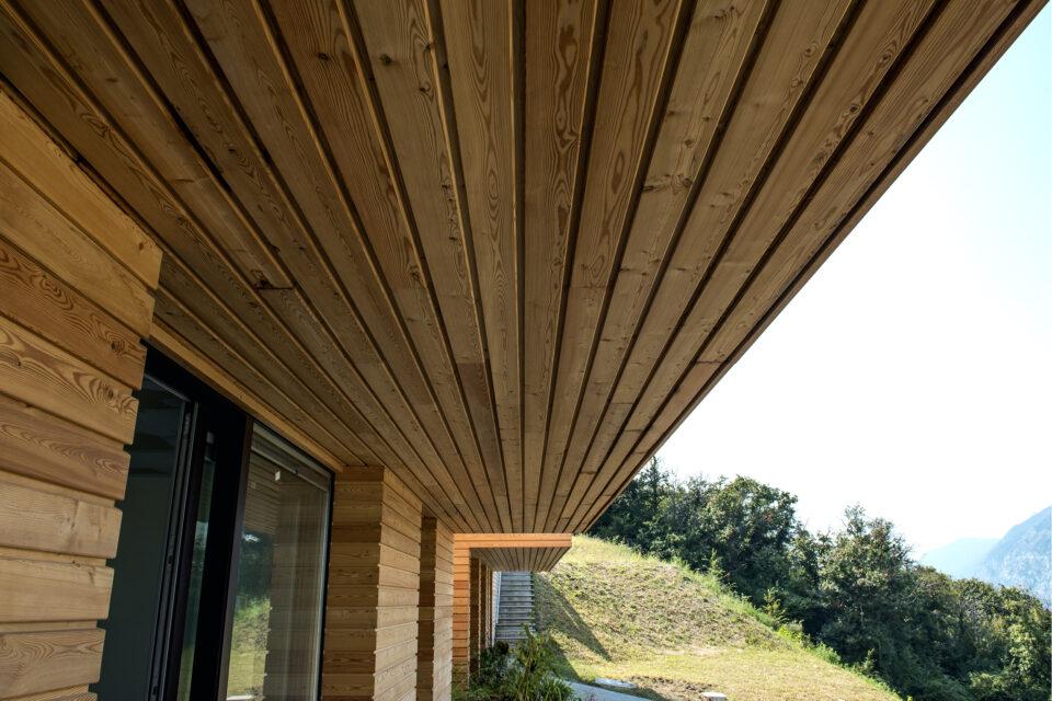 Immagine per Ville residenziali in legno con parapetti in vetro sul Lago d'Iseo - 5