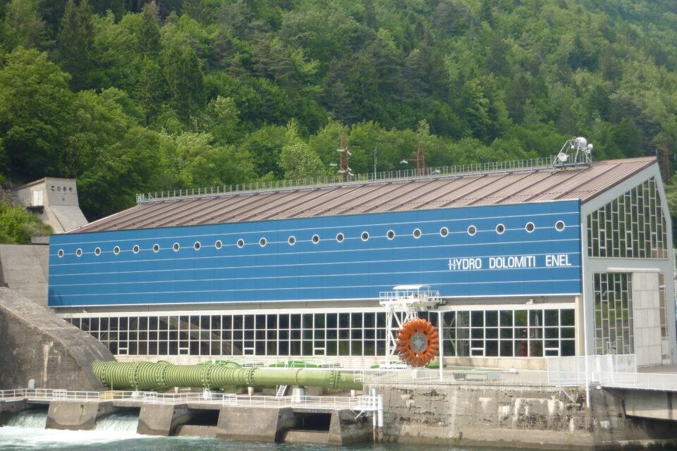 Immagine per Restyling facciata Centrale idroelettrica