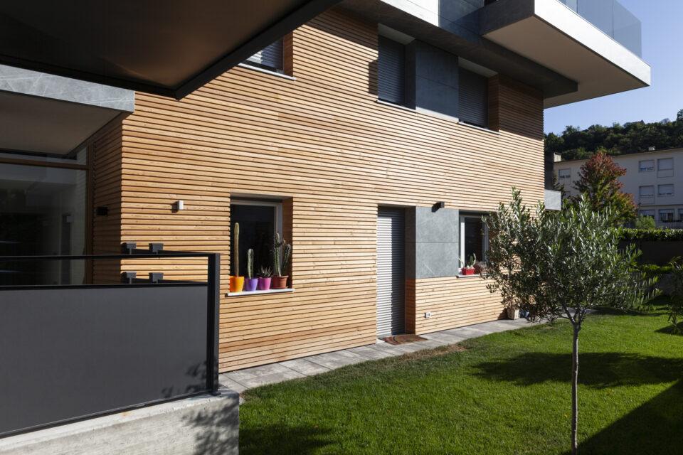 Rivestimento facciata ventilata in legno - Trento