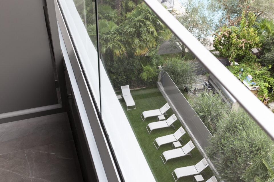 Parapetti in vetro - Hotel Villa Enrica