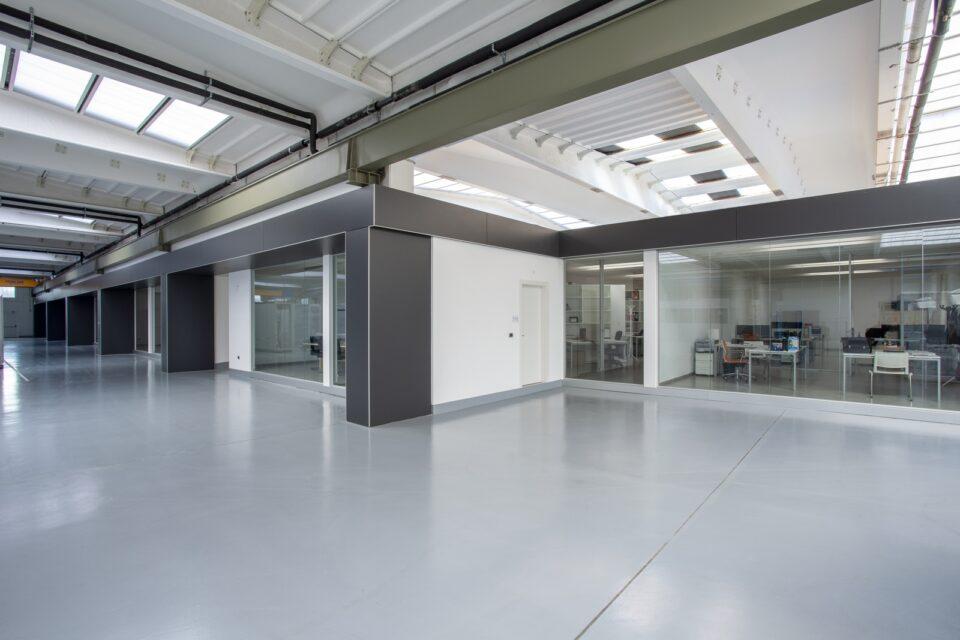 Rivestimento colonne interne con profilo in alluminio - BM GROUP SPA